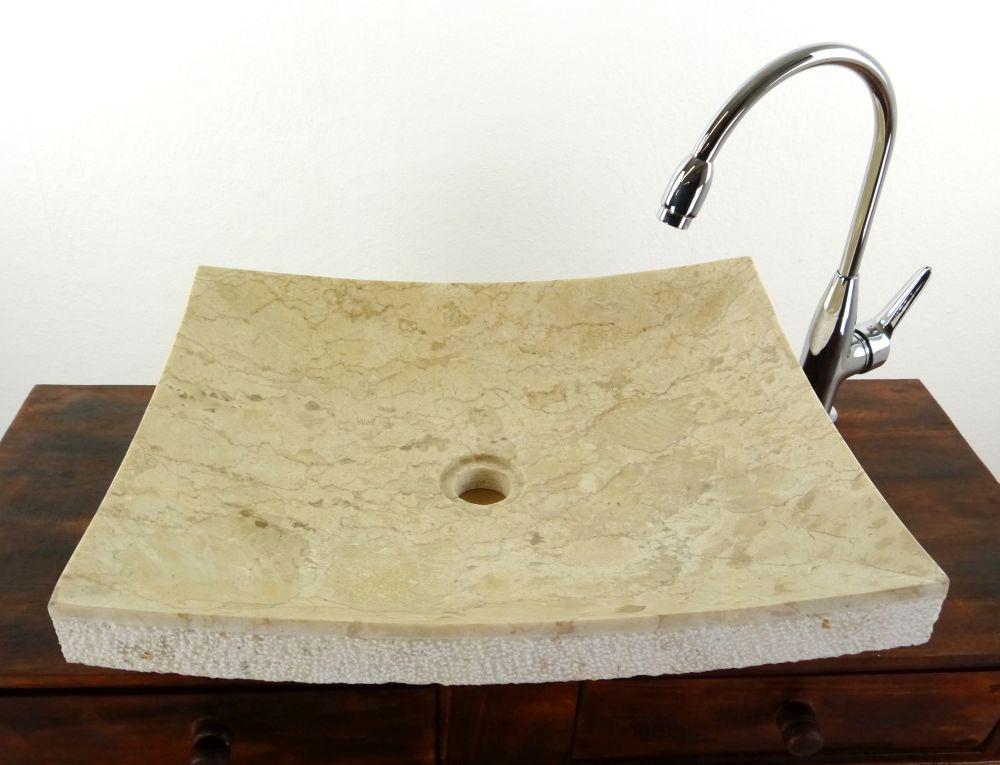 flache marmor waschschale waschbecken aufsatzbecken. Black Bedroom Furniture Sets. Home Design Ideas