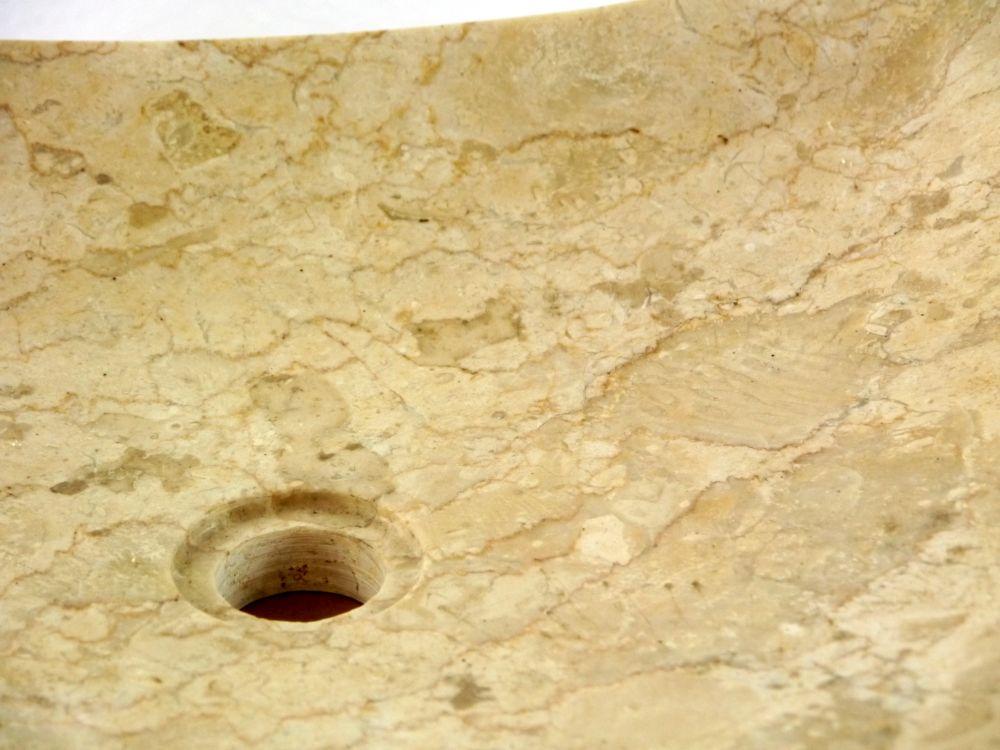 flache marmor waschschale waschbecken aufsatzbecken handwaschbecken bali ebay. Black Bedroom Furniture Sets. Home Design Ideas