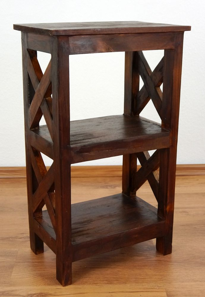 unique rustic bedside table handmade bali furniture indonesia small