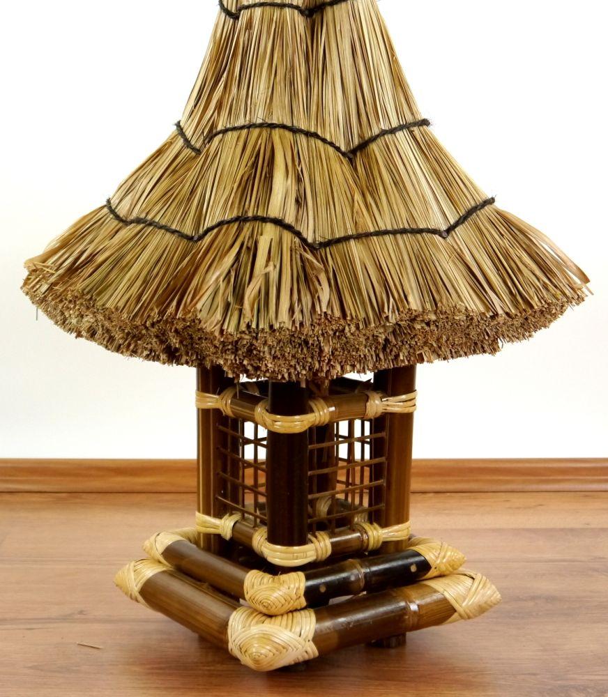 Bali haus mit strohhutdach asiatische dekoration - Asiatische dekoration ...