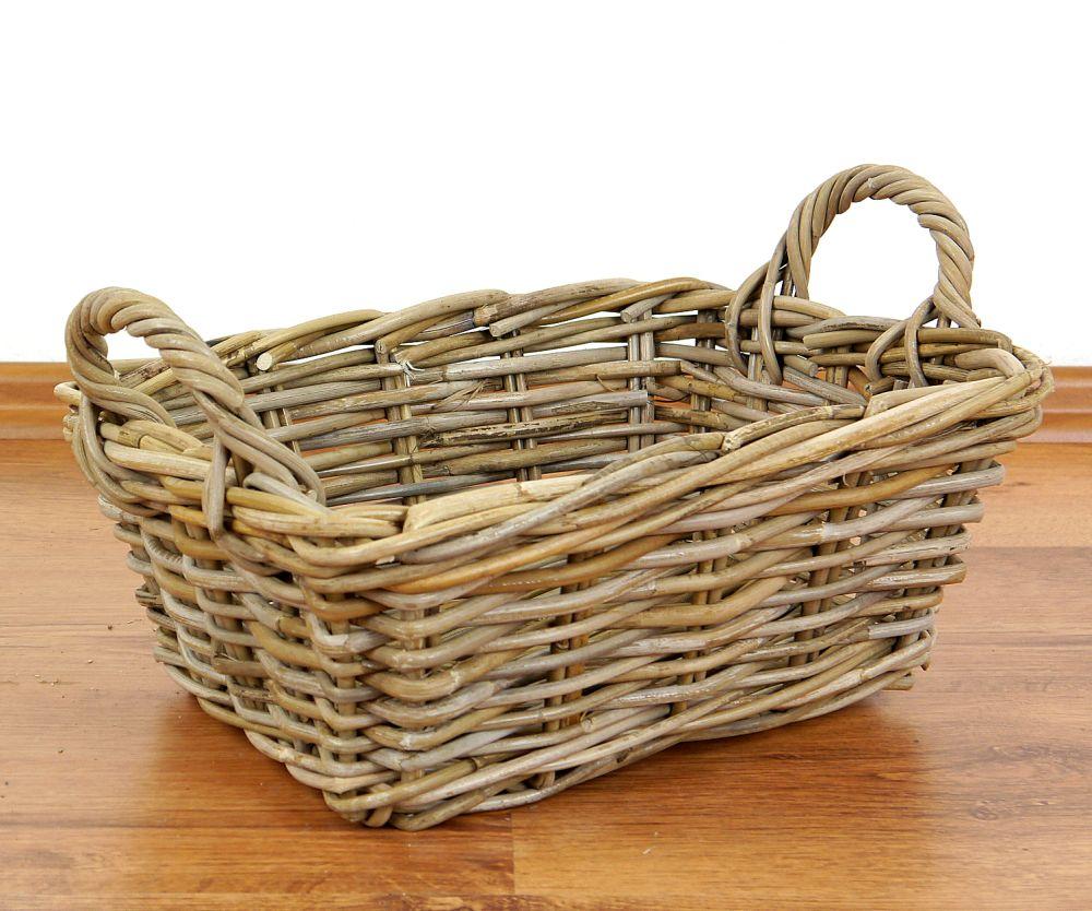asian rattan baskets decorative bread fruit baskets handmade java indonesia ebay. Black Bedroom Furniture Sets. Home Design Ideas