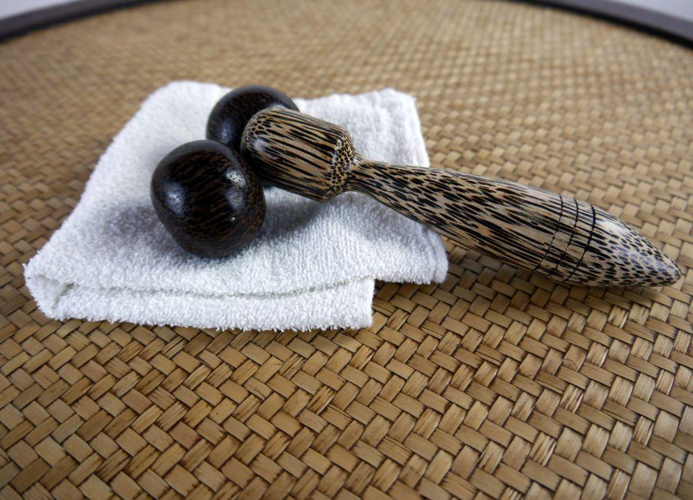 massageger te aus holz wellness reflexzonenmassage entspannung ebay. Black Bedroom Furniture Sets. Home Design Ideas