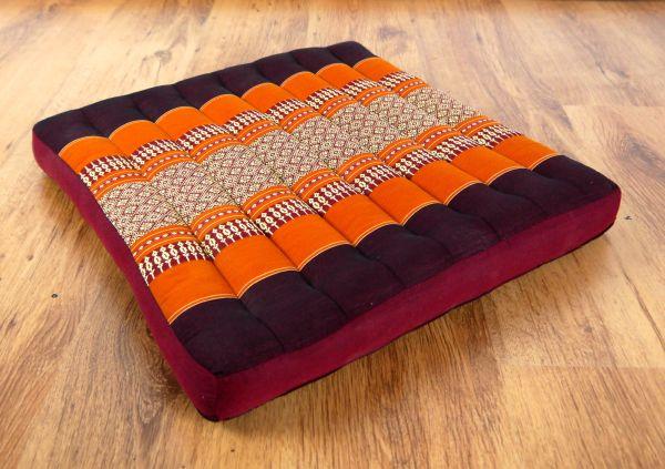 kapok sitzkissen stuhlkissen meditationskissen bodenkissen. Black Bedroom Furniture Sets. Home Design Ideas