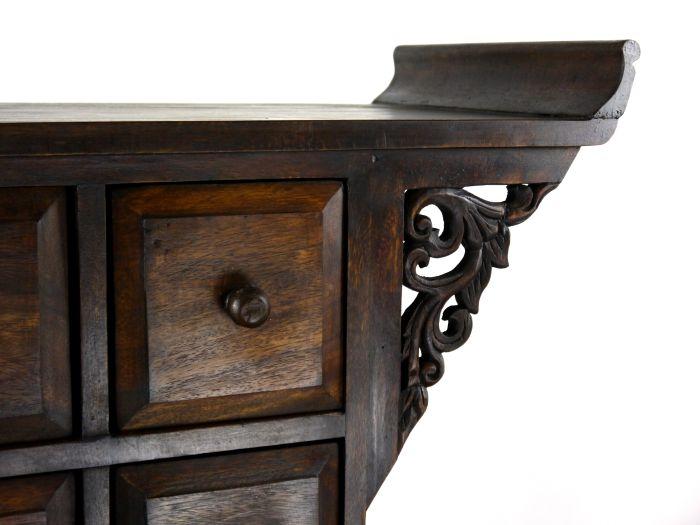 asiatische apothekerschr nke massivholz thai m bel asia. Black Bedroom Furniture Sets. Home Design Ideas