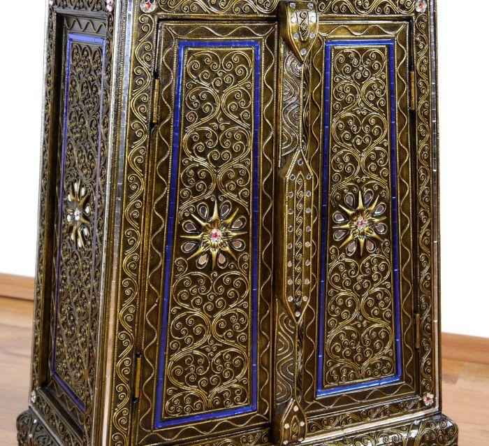 glasmosaikschr nkchen thai kommode asia m bel ornamente. Black Bedroom Furniture Sets. Home Design Ideas