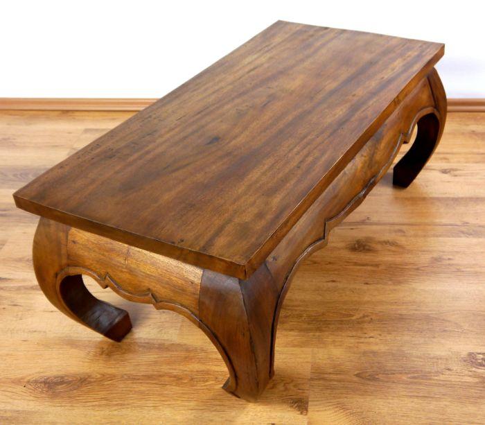 Opiumtisch 100x50cm massivholz couchtisch beistelltisch for Beistelltisch 100 x 50