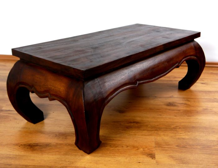 Opiumtisch, Suarholz, Elefant, 50x50cm, Beistelltisch