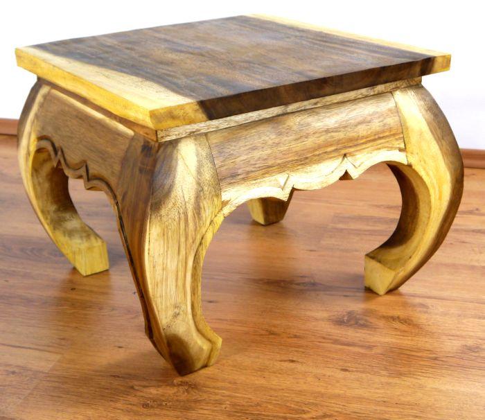 Opiumtisch 50x50cm Massivholz Thai Möbel Beistelltisch