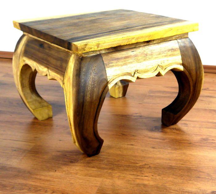 Asian opium coffee table hinged top 56cm x 56cm handmade for Coffee table with hinged top