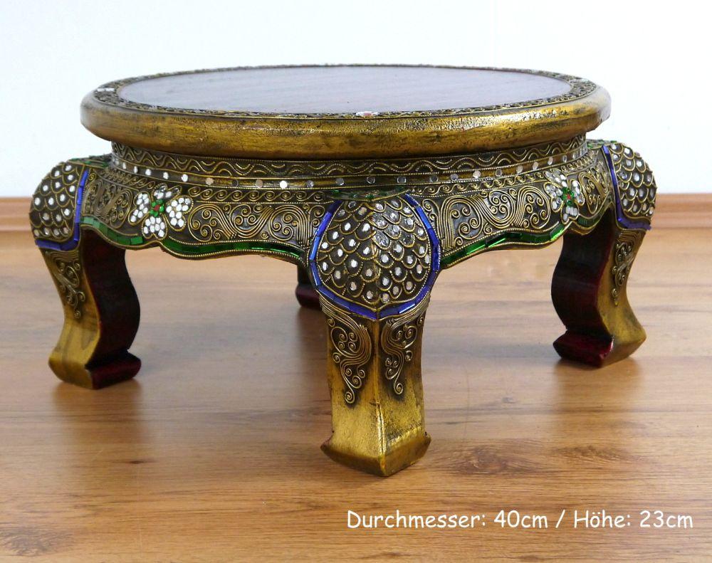 Couchtisch rund gold inspirierendes design for Couchtisch gold