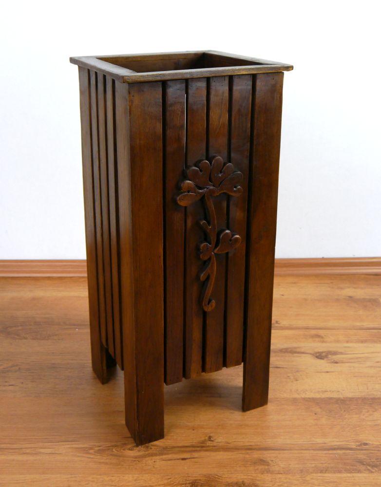 regenschirmst nder schirmst nder regenschirmhalter aus holz handarbeit ebay. Black Bedroom Furniture Sets. Home Design Ideas