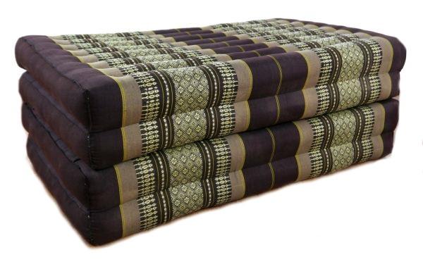 pr chtige kapok klappmatratze faltmatratze g stematratze klappbar g stebett ebay. Black Bedroom Furniture Sets. Home Design Ideas