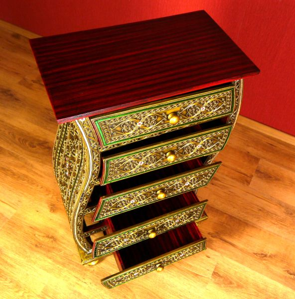 asiatische komode im glasmosaik look thailand bali. Black Bedroom Furniture Sets. Home Design Ideas