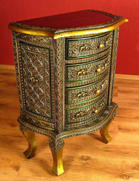 Asiatische Möbel Schweiz ~ AsiatischeKomodeimGlasmosaikLookIndonesienThailandBaliMoebel